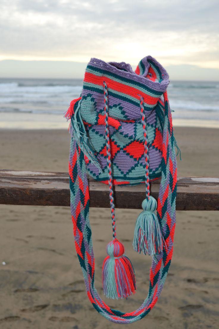 Mi mochila estilo wayuú