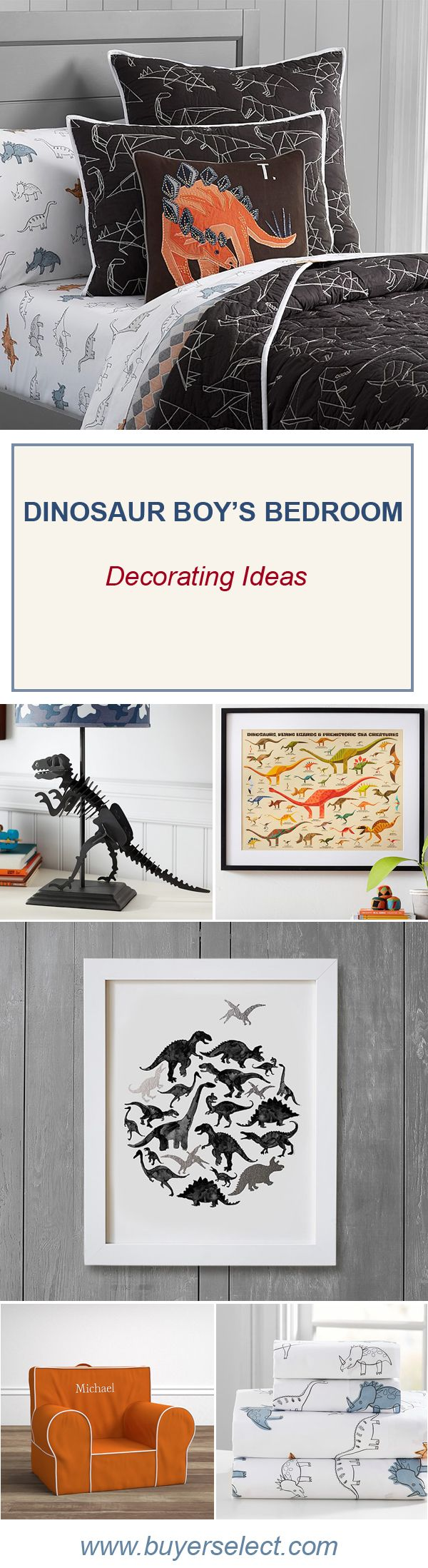 Dinosaur Theme Bedroom