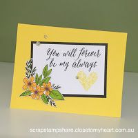 Hello and welcome aboard our Close To My Heart January 2017 Adore You Stamp of the Month Australasian Blog Hop . If you have arrived h...