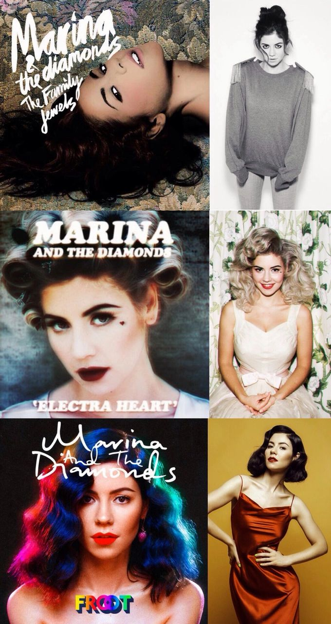 Marina And The Diamonds • music • The Family Jewels • Electra Heart • Froot • Musik • Albums so far • 2015