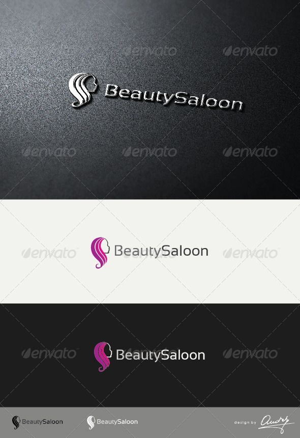 Beauty Saloon Logo Template