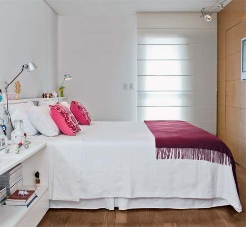 Como decorar quarto de solteiro quartos for Colores para apartamentos pequenos