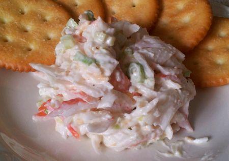 Deli King Krab Salad (Or Deli King Krab Pasta Salad)