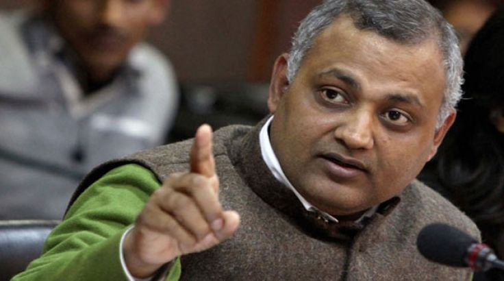 Delhi Law Minister Somnath Bharti did no wrong:AAP
