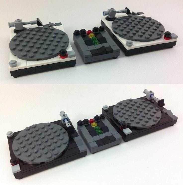 LEGO Technics Turntables & Mixer