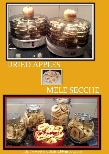 Dried Apples - Mele secche
