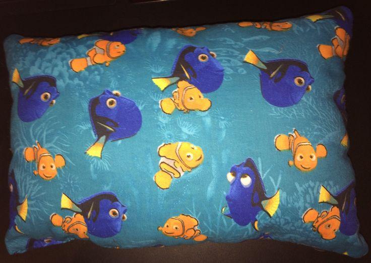 Finding Dori movie pillow nemo fish Disney blue water turquoise soft kids pillow by seweyesew on Etsy