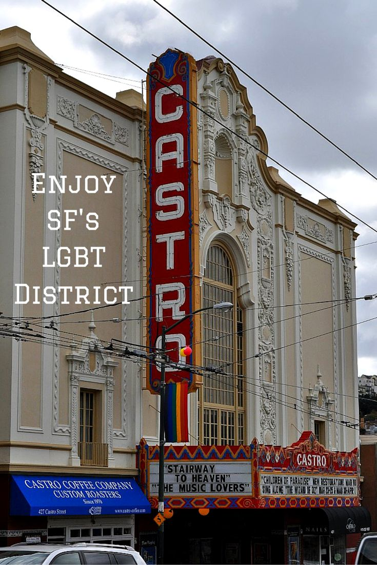 Get to know the colorful Castro District!