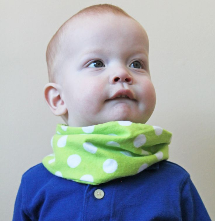 Baby Infinity Scarves - Toddler Fashion - Unisex Baby Gifts - Spring Scarf - Cute Toddler Clothes - Lime Green Polka Dot by CountryStitched on Etsy