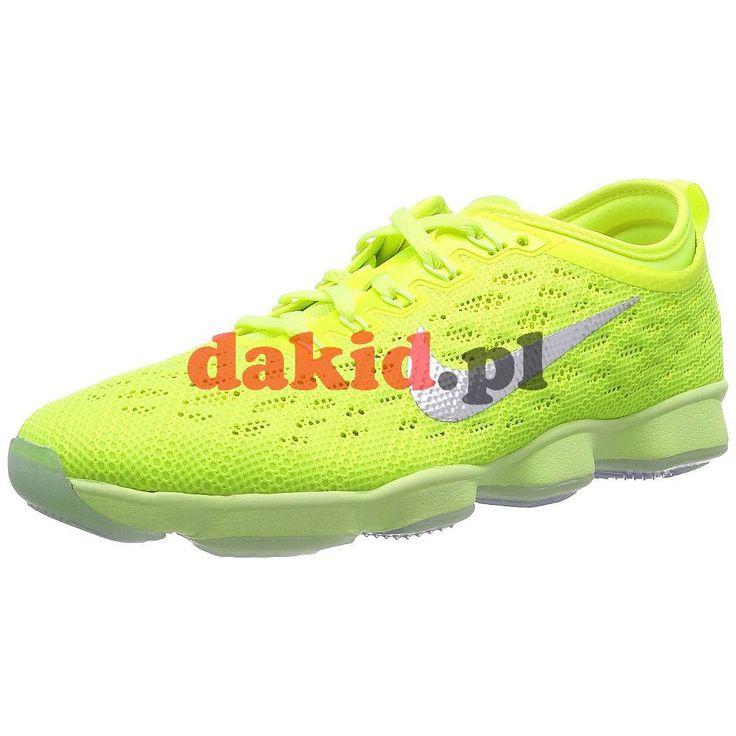 Nike WMNS ZOOM FIT AGILITY · nr kat.: 684984 700 · kolor: volt/ivory-hyper grape-lqd lm