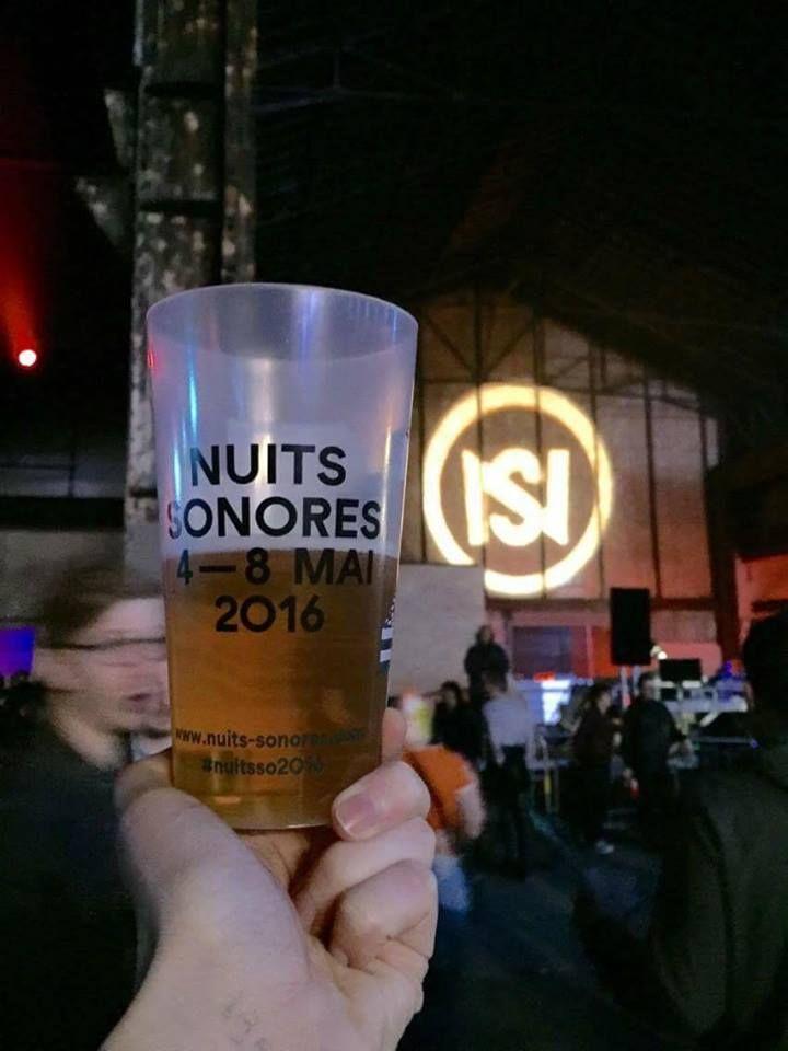 Les gobelets réutilisables Greencup pour le Festival des Nuits Sonores!  #GobeletsGreencup  https://Greencup.fr