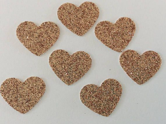 Check out this item in my Etsy shop https://www.etsy.com/au/listing/552069282/rose-gold-confetti-rose-gold-heart