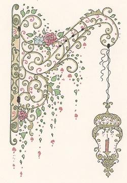Hanging Lantern doodles