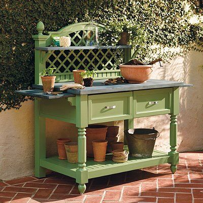 96 Best Images About Potting Bench On Pinterest Gardens 400 x 300