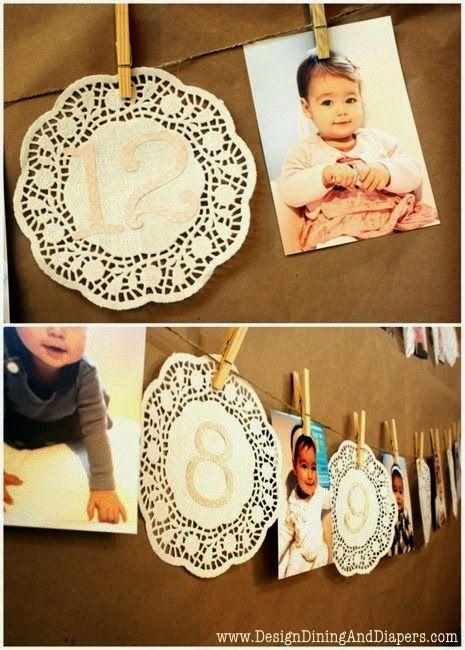 BeyazBegonvil I Kendin Yap I Alışveriş IHobi I Dekorasyon I Makyaj I Moda blogu: Kendin Yap I Bebeklerinizin Doğum Günü İçin Fikirler