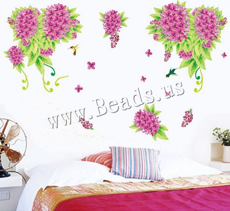 PVC Plastic Wall Stickers, adhesive, 50x70cm, Sold By Set