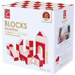 Hape Beech Blocks 30th Anniversary Edition