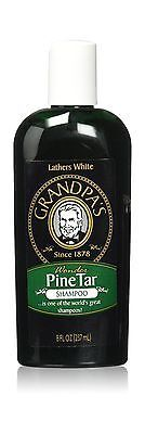 Grandpa's Pine Tar Shampoo 8 Fluid Ounce - NEW FREE SHIPPING