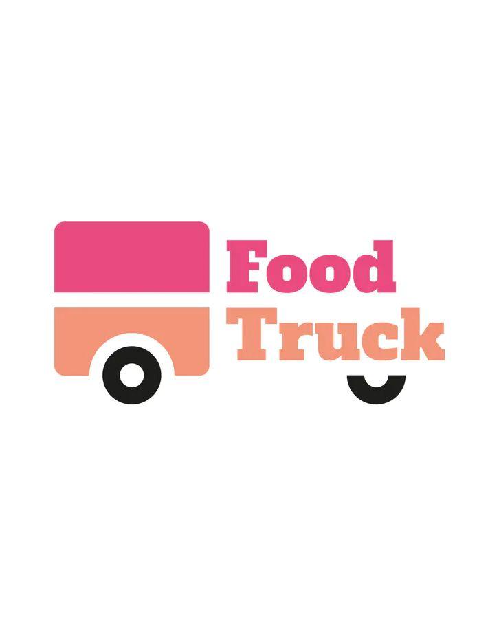 Food Truck Logo Template Food Truck Design Logo Food Company Logo Company Meals