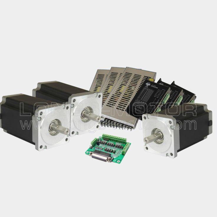 3 axis nema 34 stepper motor 1600 driver cnc kit cnc for 6 amp stepper motor driver