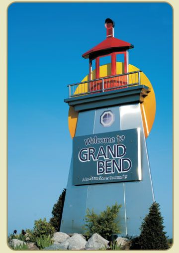 Grand Bend, Ontario in Canada. Spent my summers there when I was a kid-- fond memories!!!