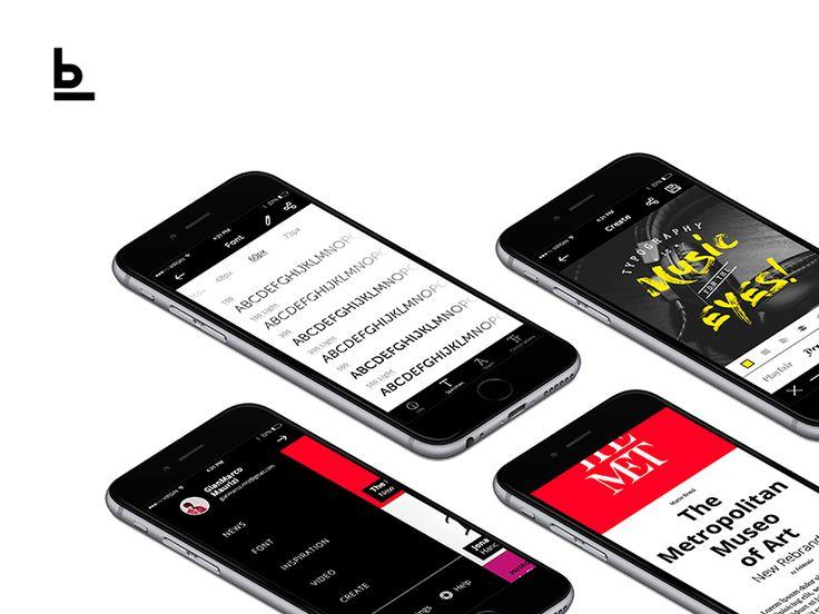 Baseline - Typography App by Gian Marco Maurizi