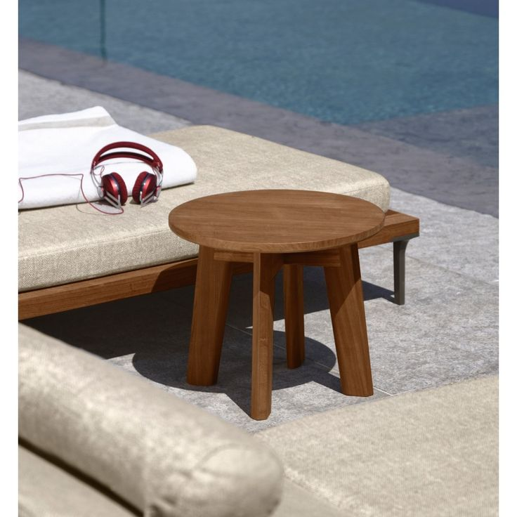 Cleo Side Table, Contemporary Outdoor Furniture Design At Cassoni.com