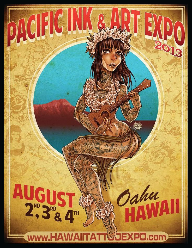 24 best tattoo events images on pinterest events for Tattoo expo hawaii