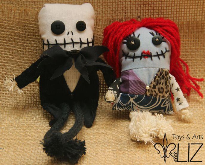 Toyarts Jack e Sally Toys & Arts da Liz