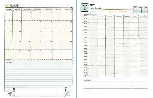 Diy Calendar Excel : Diy printable planner
