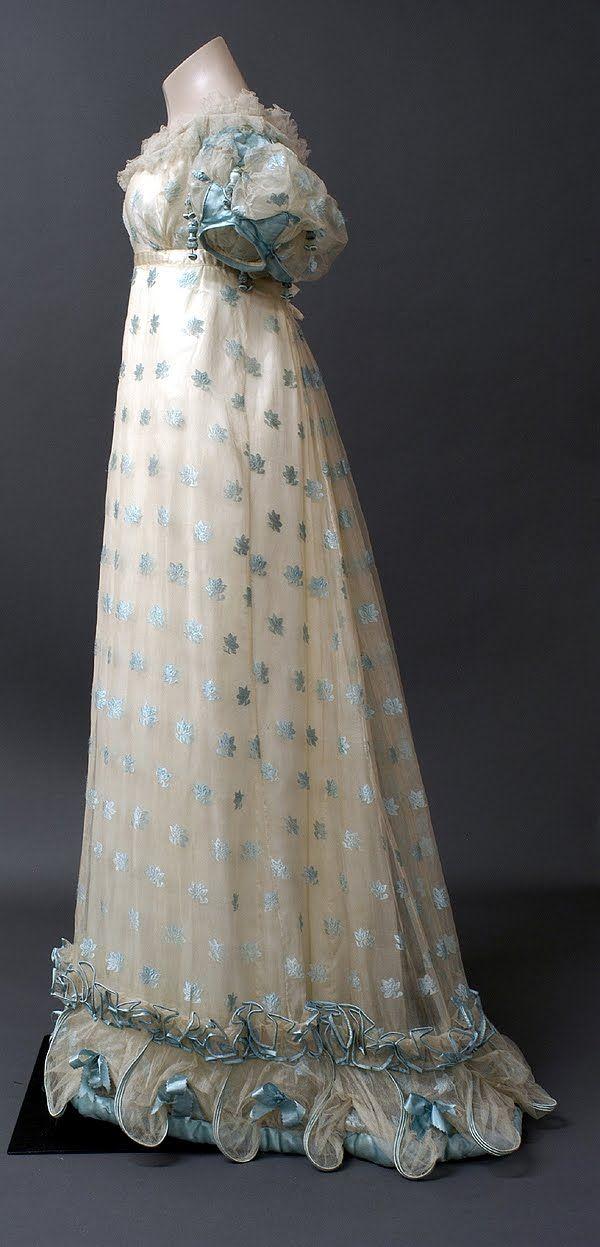 1800-1815 #vintage #dress #regency