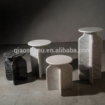 modern italian marble top end table home furniture Guangdong