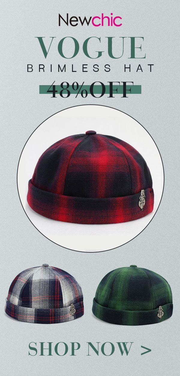 625c9ae72559c Retro Vogue Vintage Crimping Brimless Hats  vintage  retro  style  hat
