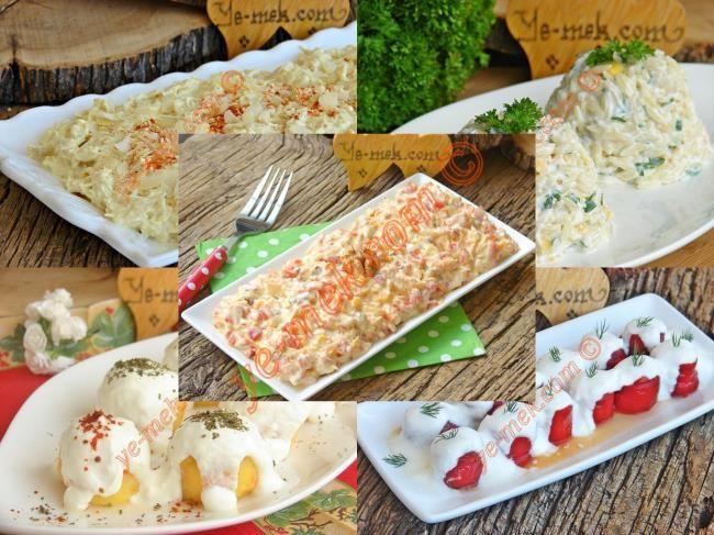 Yoğurtlu Misafir Salataları Mezeleri Tarifleri | En Kaliteli Yemek Tarifleri Sitesi