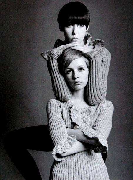Twiggy and Peggy---im knit like that