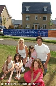 Visitors to Bovis Homes' website are reassured that when buying a new home 'you want to be sure you can trust your builder'. Rennie and Sheralee Bottali took the company at its word - only to find themselves living in a...