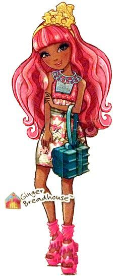Ginger Breadhouse Book Party Ever After High Illustration, 2015