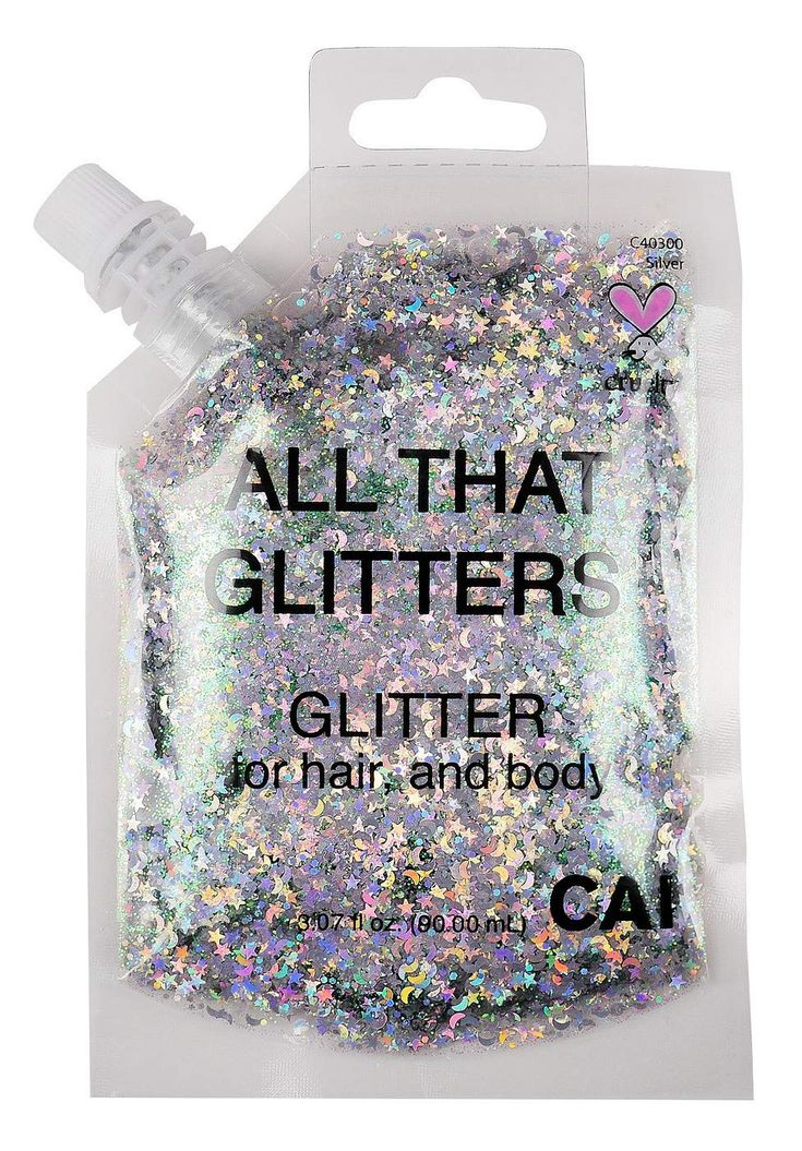 Hair and Body Glitter Bag Pouch Holographic Cosmetic Grade