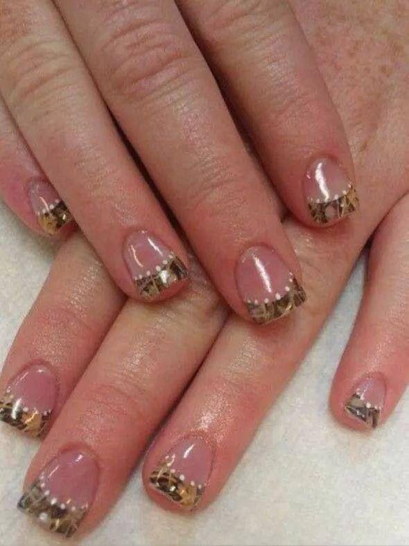 Mossy oak nails  Love it