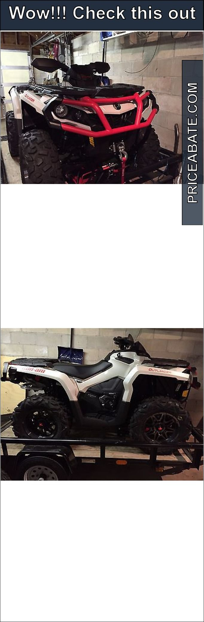 Atvs utvs snowmobiles can am outlander 1000 xt brand new extended warranty
