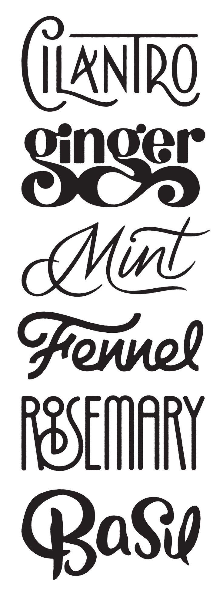 fuentes geniales. #Typography #font
