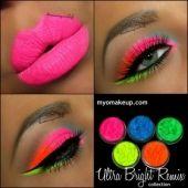 5 MYO Ultra Bright Remix Shimmer Set Eyeshadow Pigment Mica Cosmetic Loose Powder Mineral Makeup