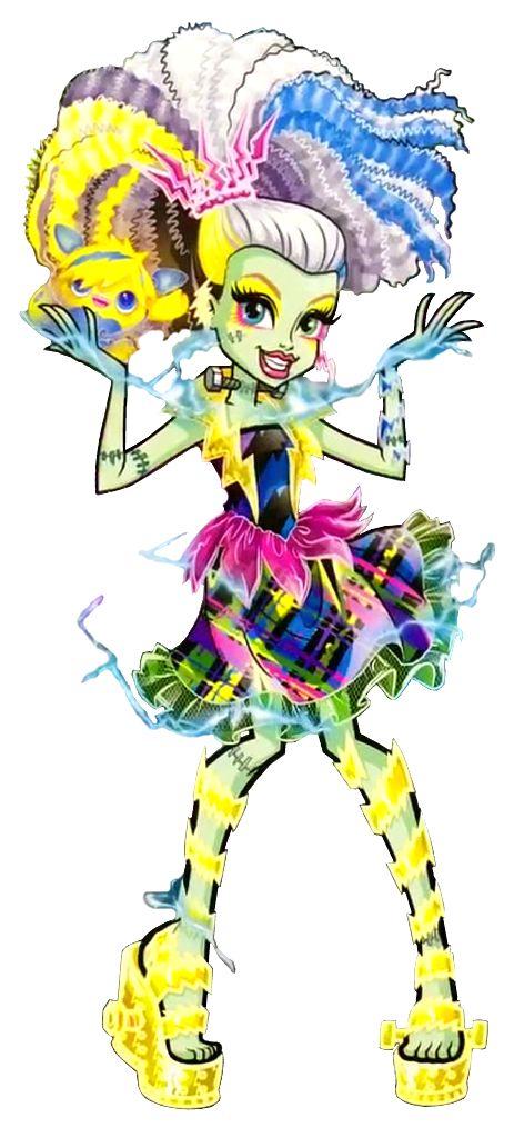 Frankie Stein. Electrified. High Voltage. NEW Profile art