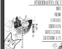 Moonkitty.NET's second layout featuring artwork from the Sailor V manga!
