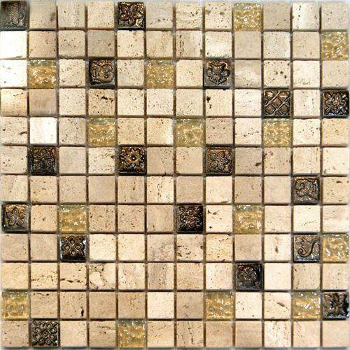 Sample Black Metallic Deco Insert Crackle Glass Mosaic: 297 Best Images About Glass Mosaic On Pinterest