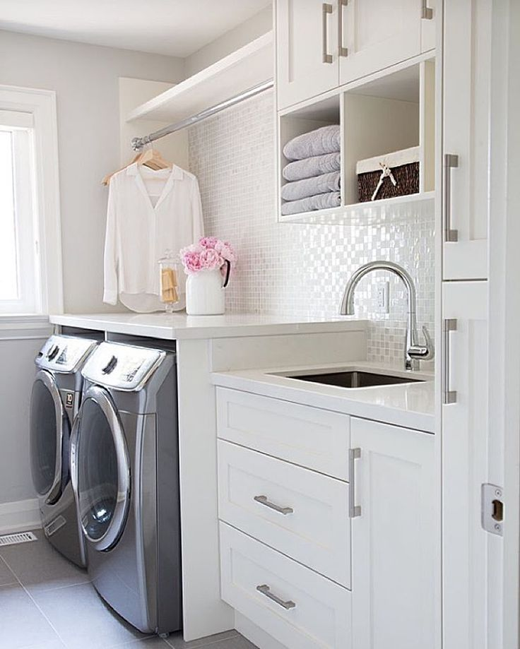 We would be delighted to do laundry in this space! By Barlow Reid Design