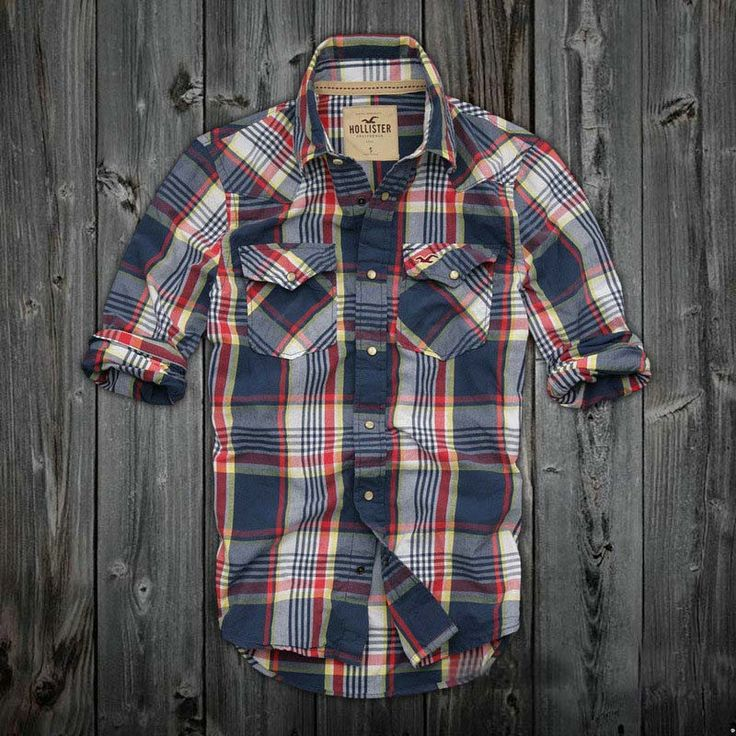Love this. I would wear it myself. Mens Hollister Plaid Shirts