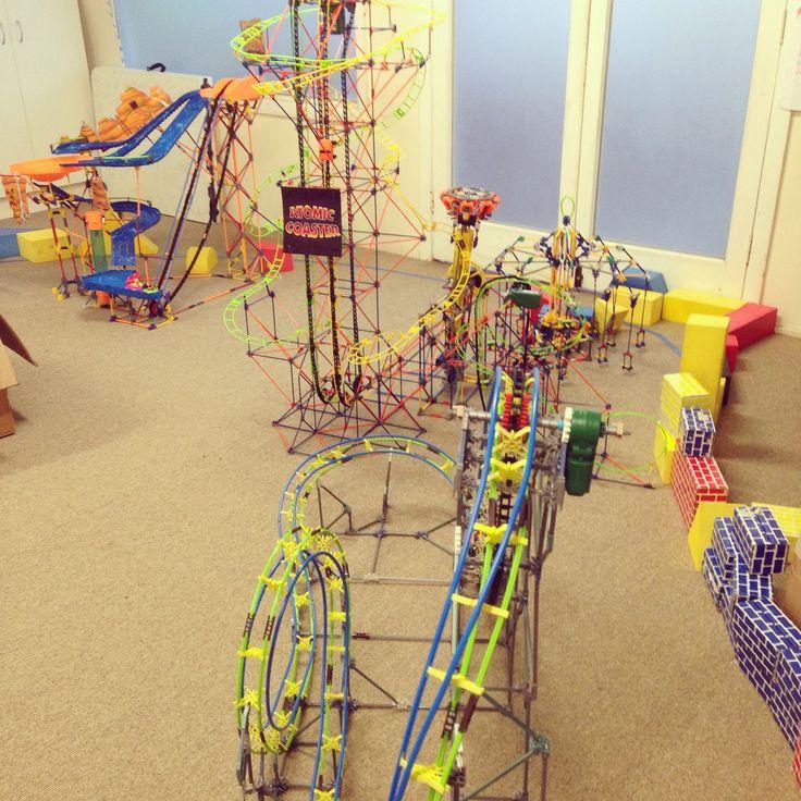 Theme park workshop for kids