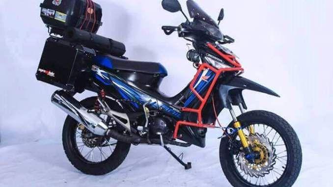 Foto Modifikasi Supra X 125 In 2020 Supra Touring Motor