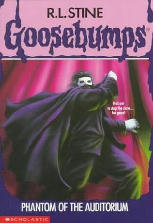 Phantom of the Auditorium (Book 24) by R. L. Stine - the Goosebumps series was the No. 94 most banned and challenged title 2000-2009